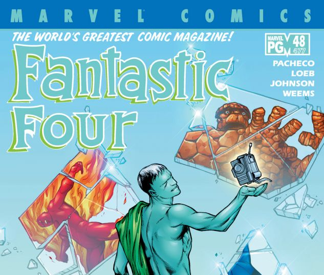 Fantastic Four (1998) #48 Cover