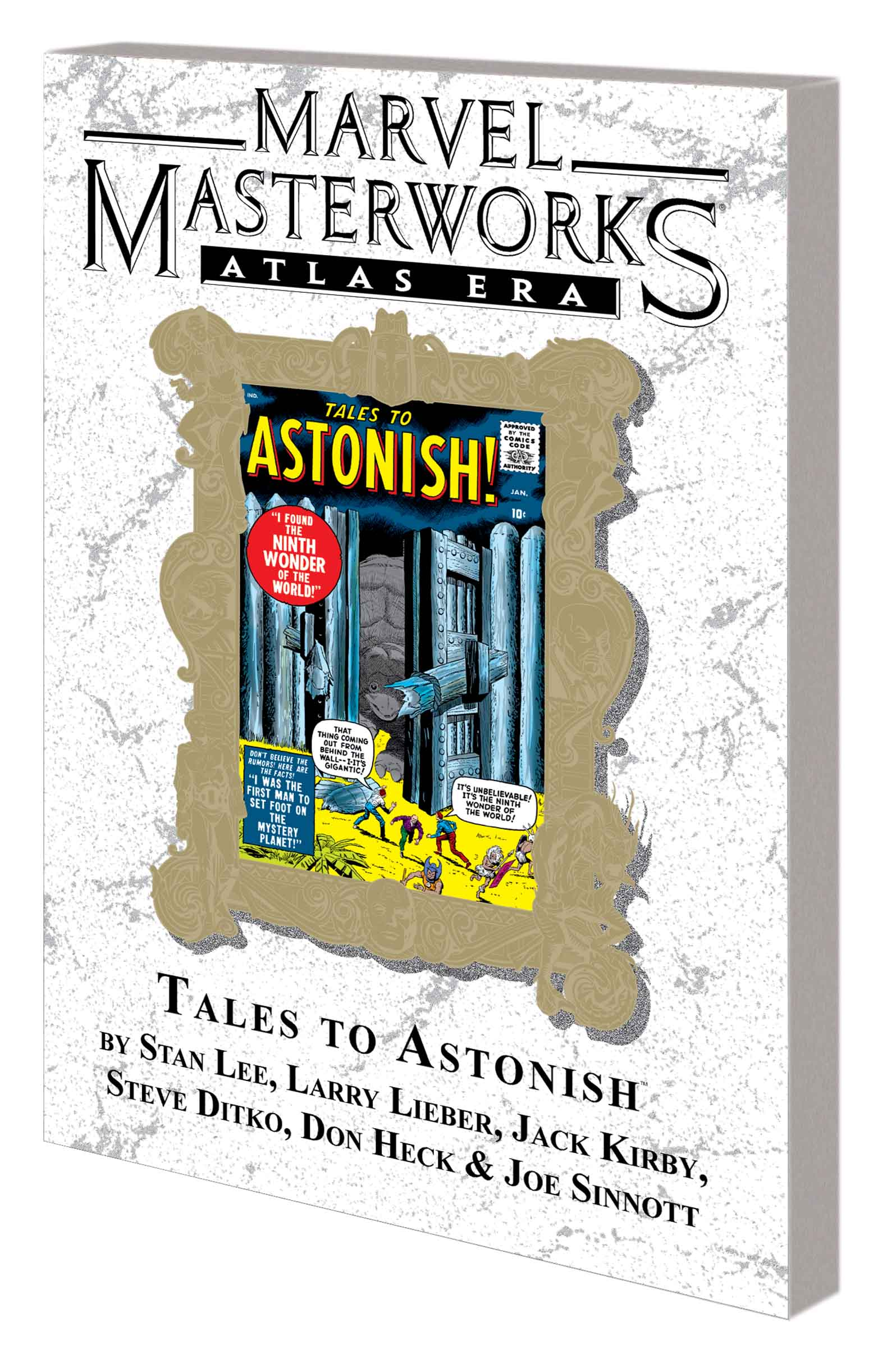 MARVEL MASTERWORKS: ATLAS ERA TALES TO ASTONISH VOL. 1 TPB VARIANT (DM ONLY) (Trade Paperback)
