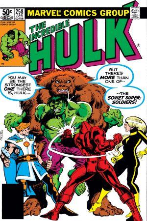 Incredible Hulk (1962) #258