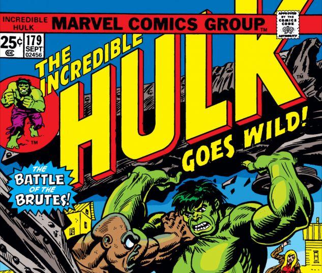 Incredible Hulk (1962) #179 Cover
