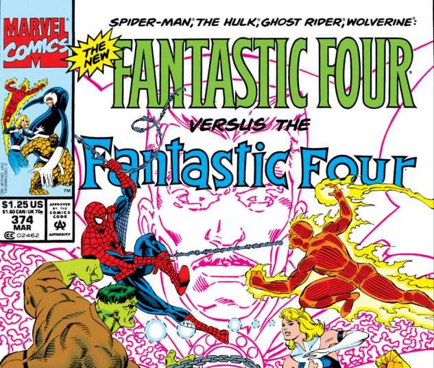 Fantastic Four (1961) #374 Cover