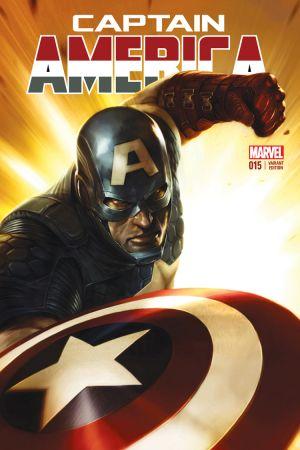 Captain America (2012) #15 (Mattina Variant)