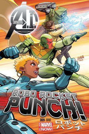 Avengers A.I. (2013) #9 (Nakayama Variant)