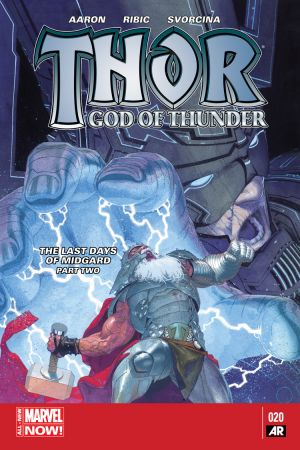 Thor: God of Thunder #20