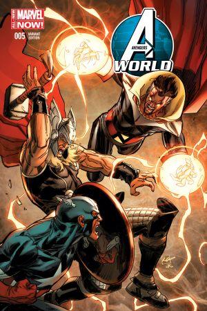 Avengers World (2014) #5 (GARNEY CAPTAIN AMERICA TEAM-UP VARIANT)