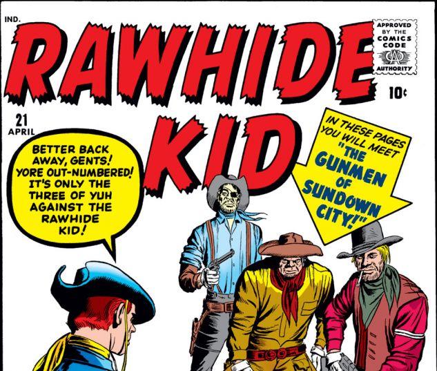 Rawhide Kid (1960) #21 Cover