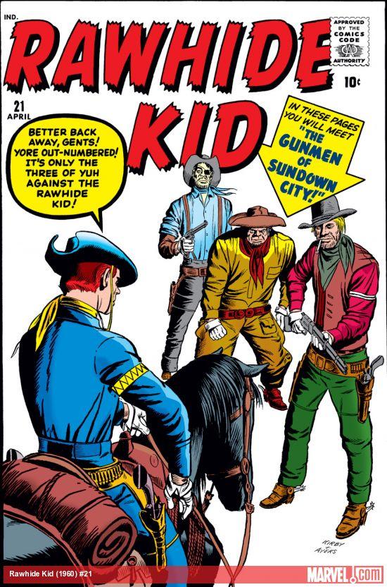 Rawhide Kid (1955) #21