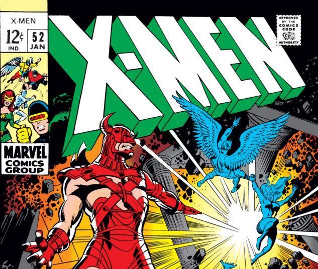 Uncanny X-Men (1963) #52 Cover