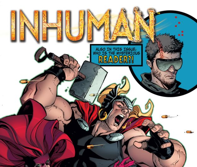INHUMAN 4 (ANMN, WITH DIGITAL CODE)