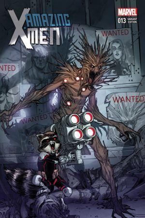 Amazing X-Men (2013) #13 (Pichelli Rr&G Variant)
