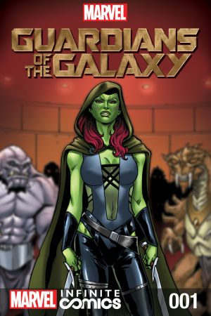 Marvel's Guardians of the Galaxy Prequel  (2014) #1