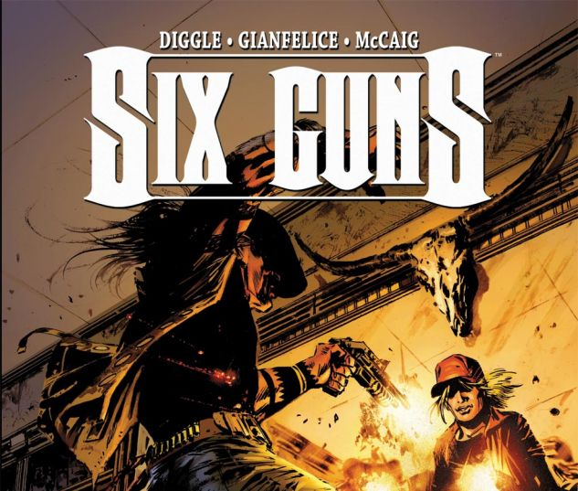 Six Guns (2011) #2 Cover
