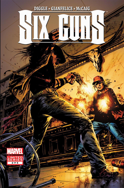 Six Guns (2011) #2