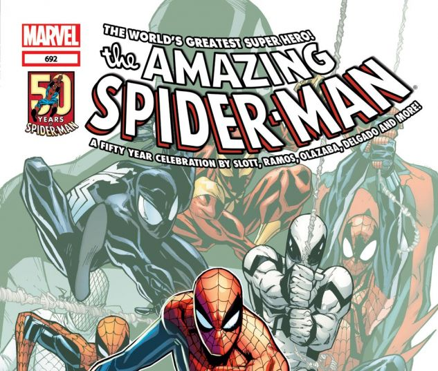 AMAZING SPIDER-MAN (1999) #692 Cover