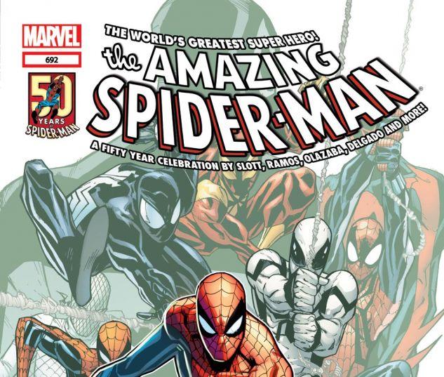 AMAZING SPIDER-MAN (1999) #692 Cover