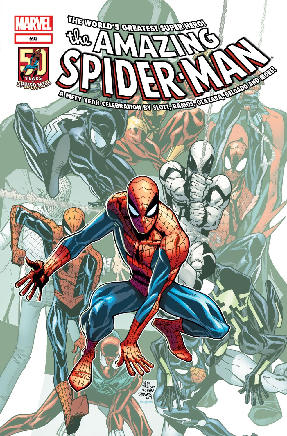 Amazing Spider-Man (1999) #692