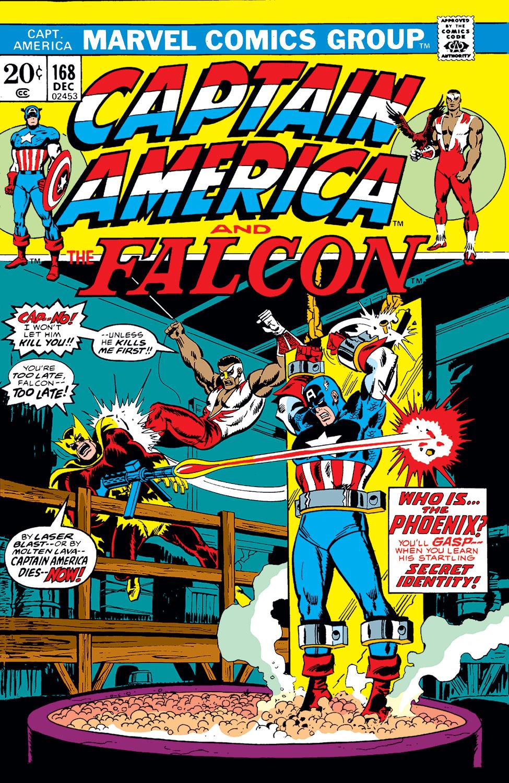 Captain America (1968) #168