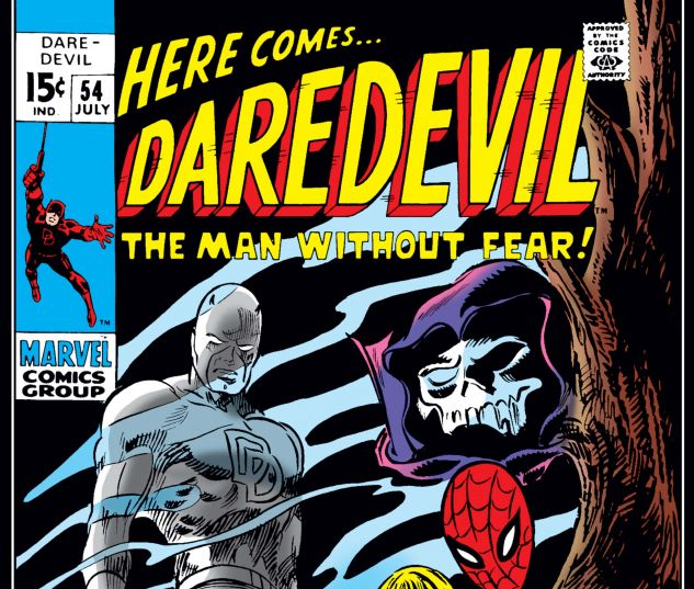 DAREDEVIL (1964) #54 Cover