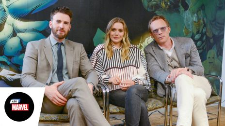 Ask Marvel: Chris Evans, Elizabeth Olsen, Paul Bettany