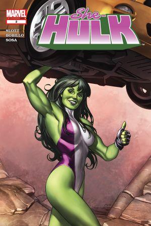 She-Hulk (2004) #2
