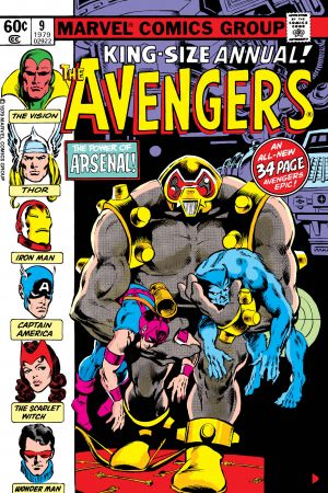 Avengers Annual (1967) #9