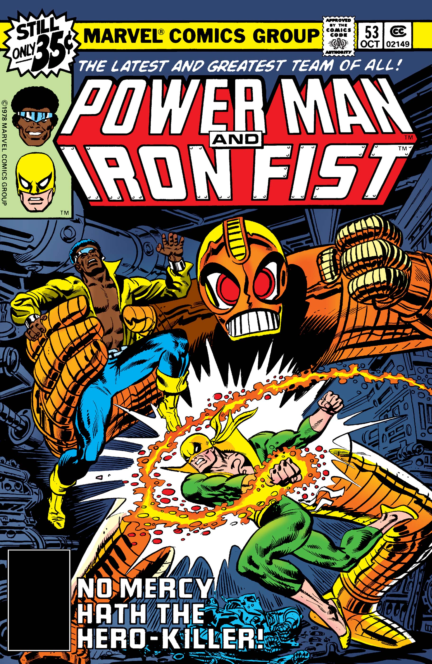 Power Man and Iron Fist (1978) #53