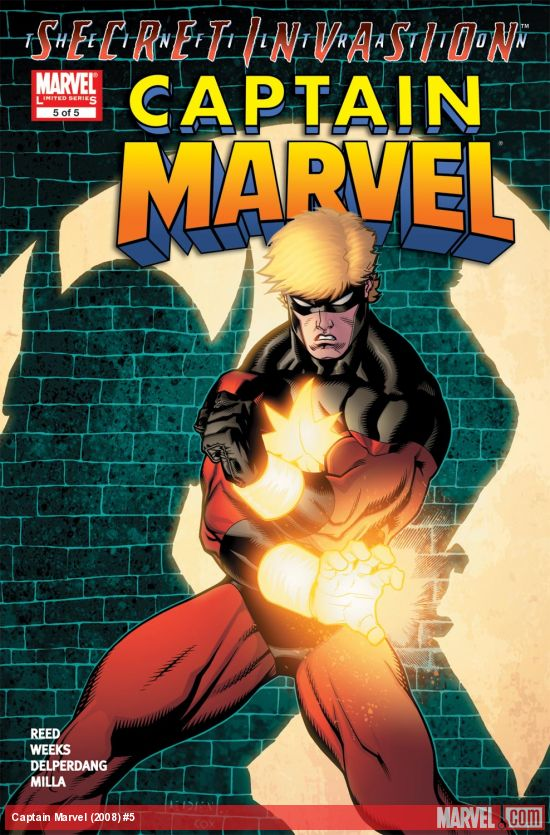 Captain Marvel (2008) #5