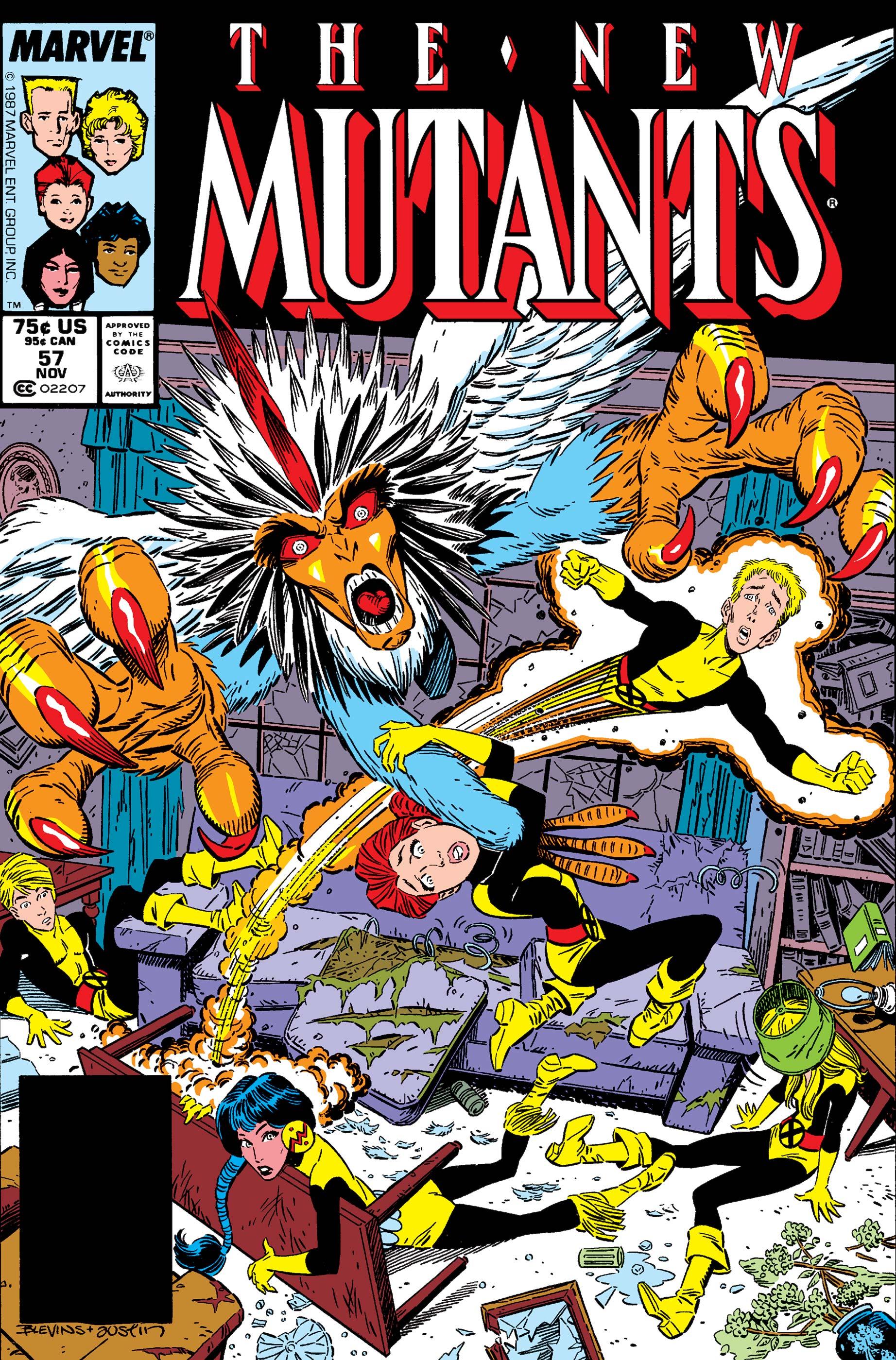 New Mutants (1983) #57