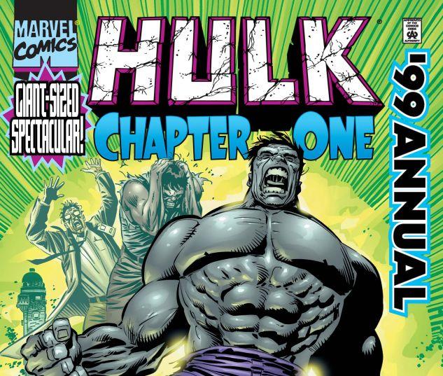 Hulk Annual 1999 (1999) #1