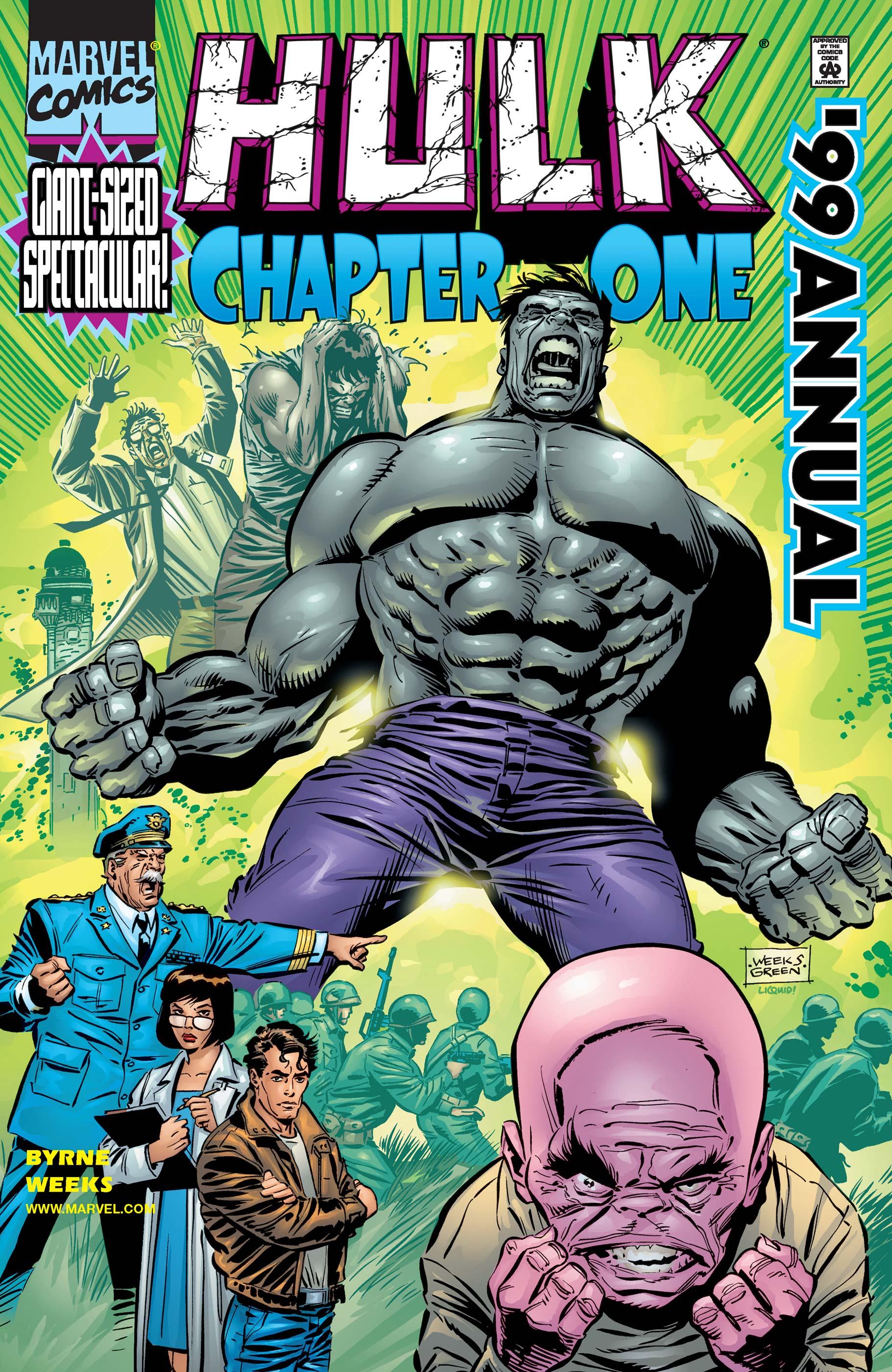 Hulk Annual (1999) #1