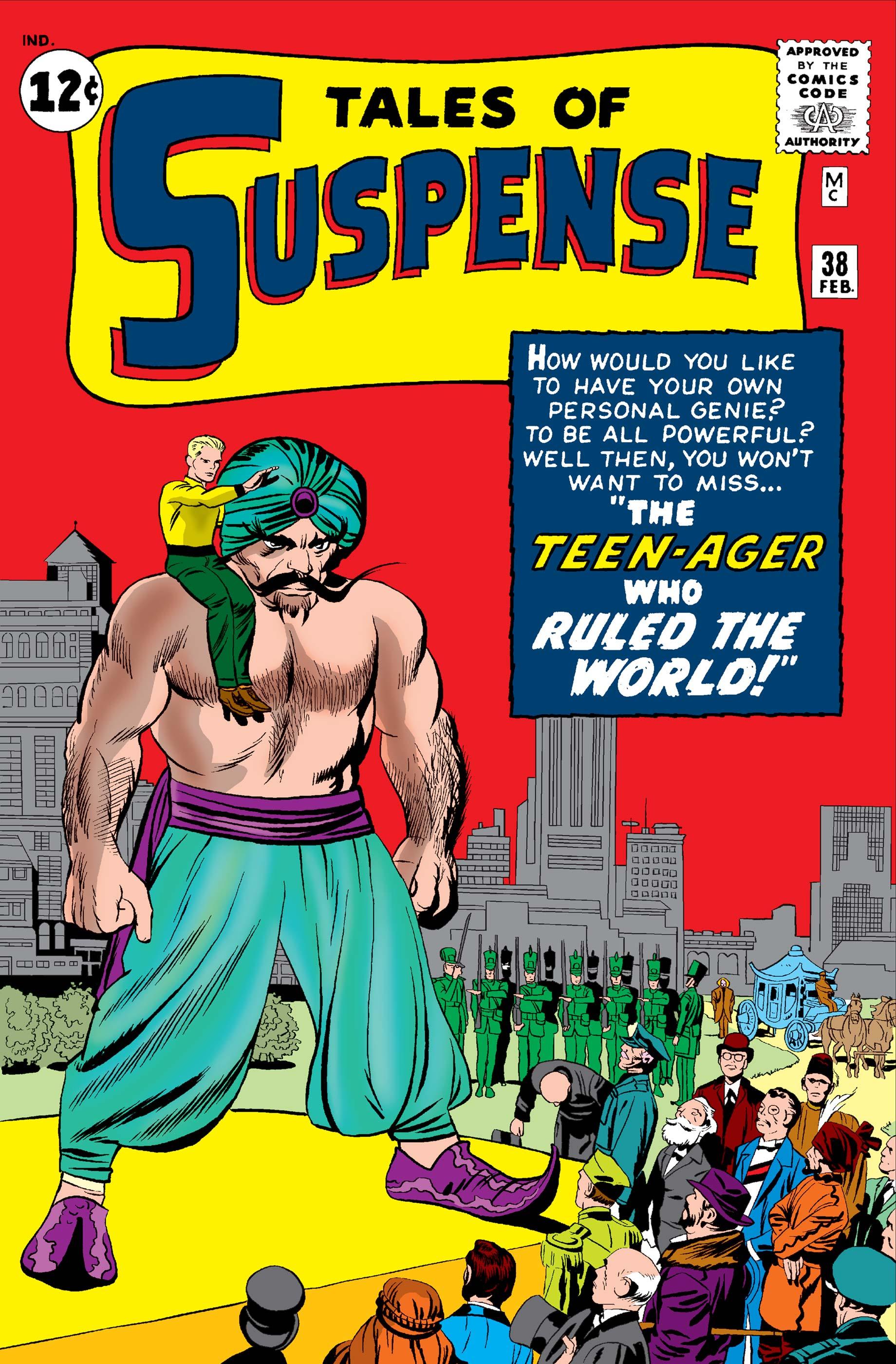 Tales of Suspense (1959) #38