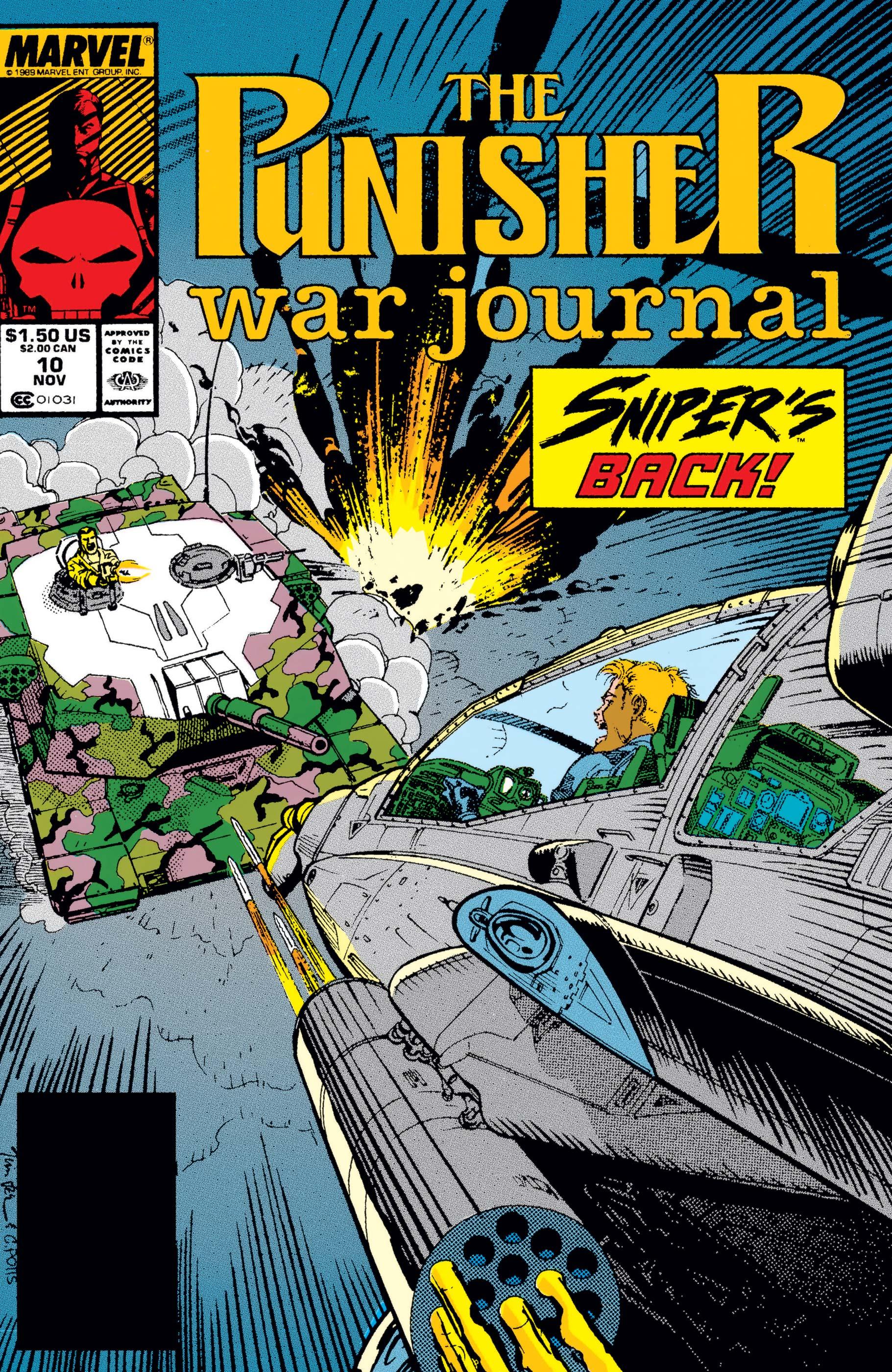 Punisher War Journal (1988) #10