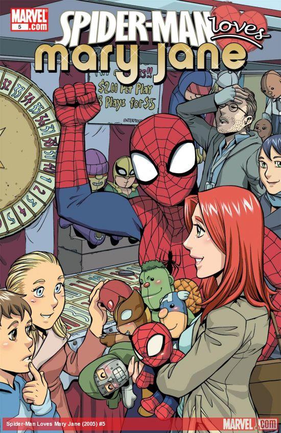 Spider-Man Loves Mary Jane (2005) #5