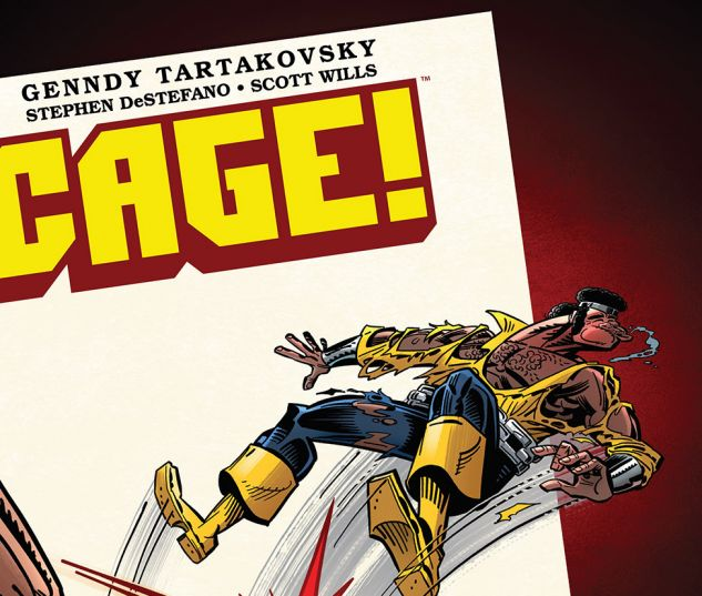 Image result for cage comic #4