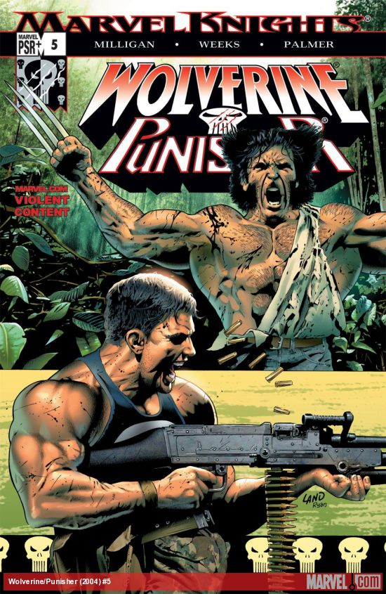 Wolverine/Punisher (2004) #5