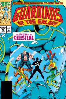 Guardians of the Galaxy (1990) #49