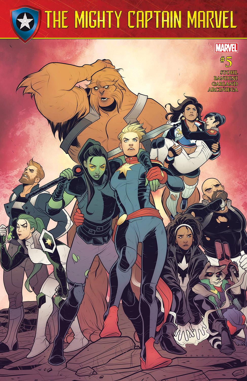 The Mighty Captain Marvel (2017) #5