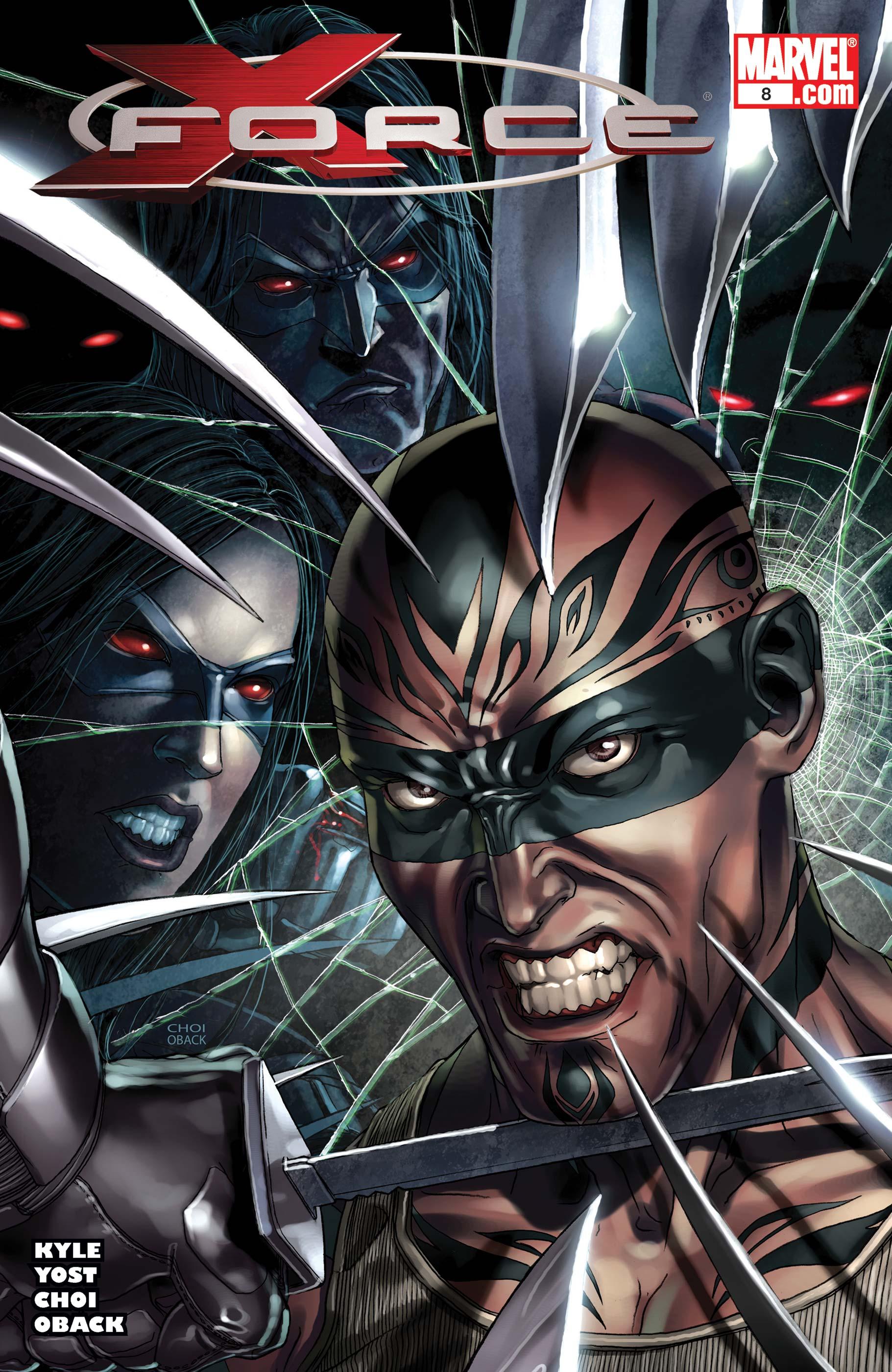 X-Force (2008) #8