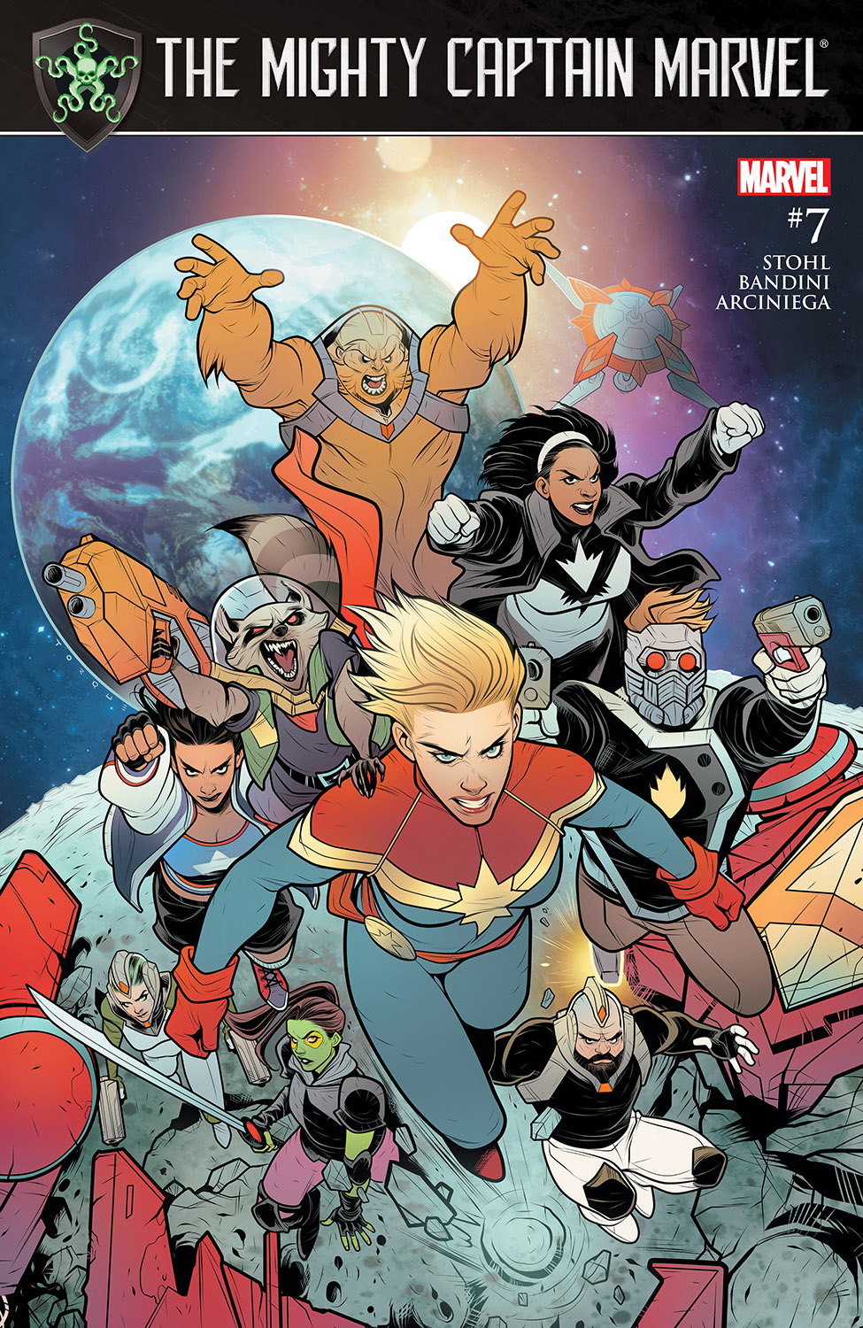 The Mighty Captain Marvel (2017) #7