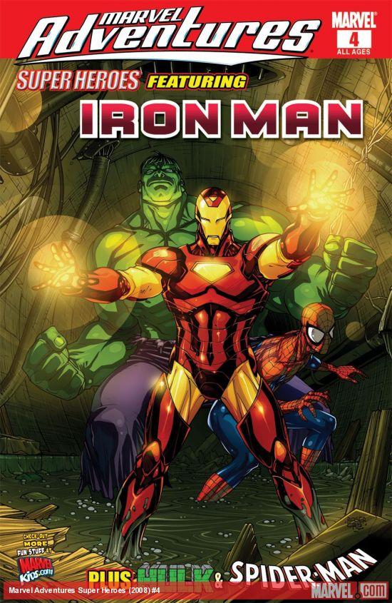 Marvel Adventures Super Heroes (2008) #4