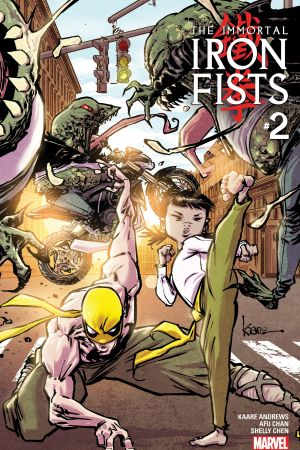 Immortal Iron Fists (2017) #2