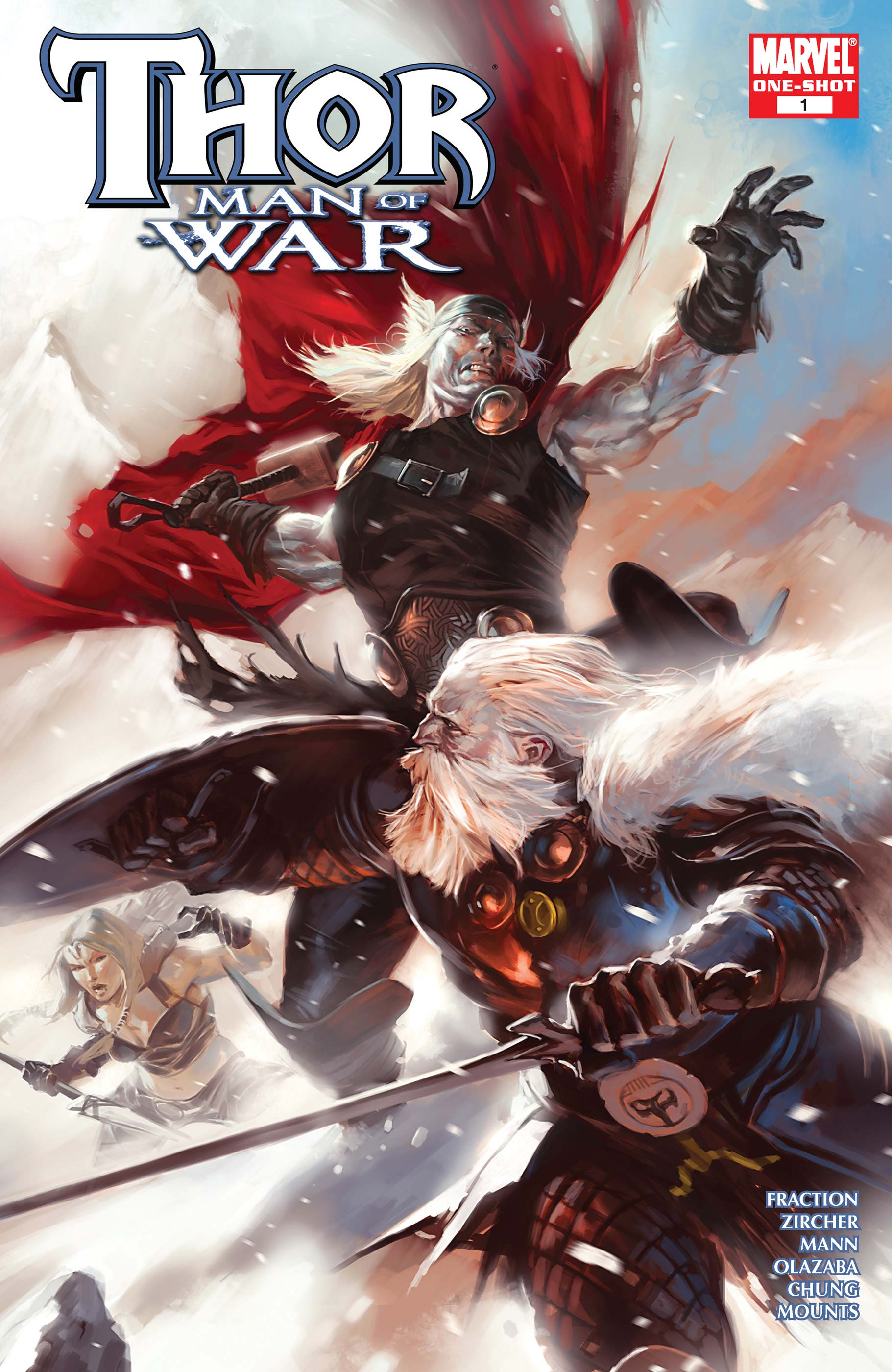 Thor: Man of War (2008) #1