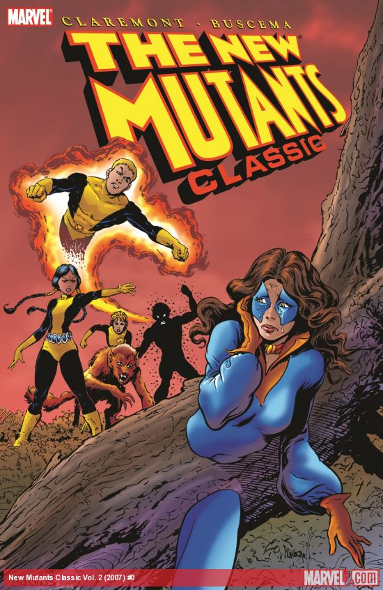 New Mutants Classic Vol. 2 (Trade Paperback)