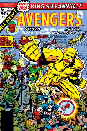 Avengers Annual (1967) #6