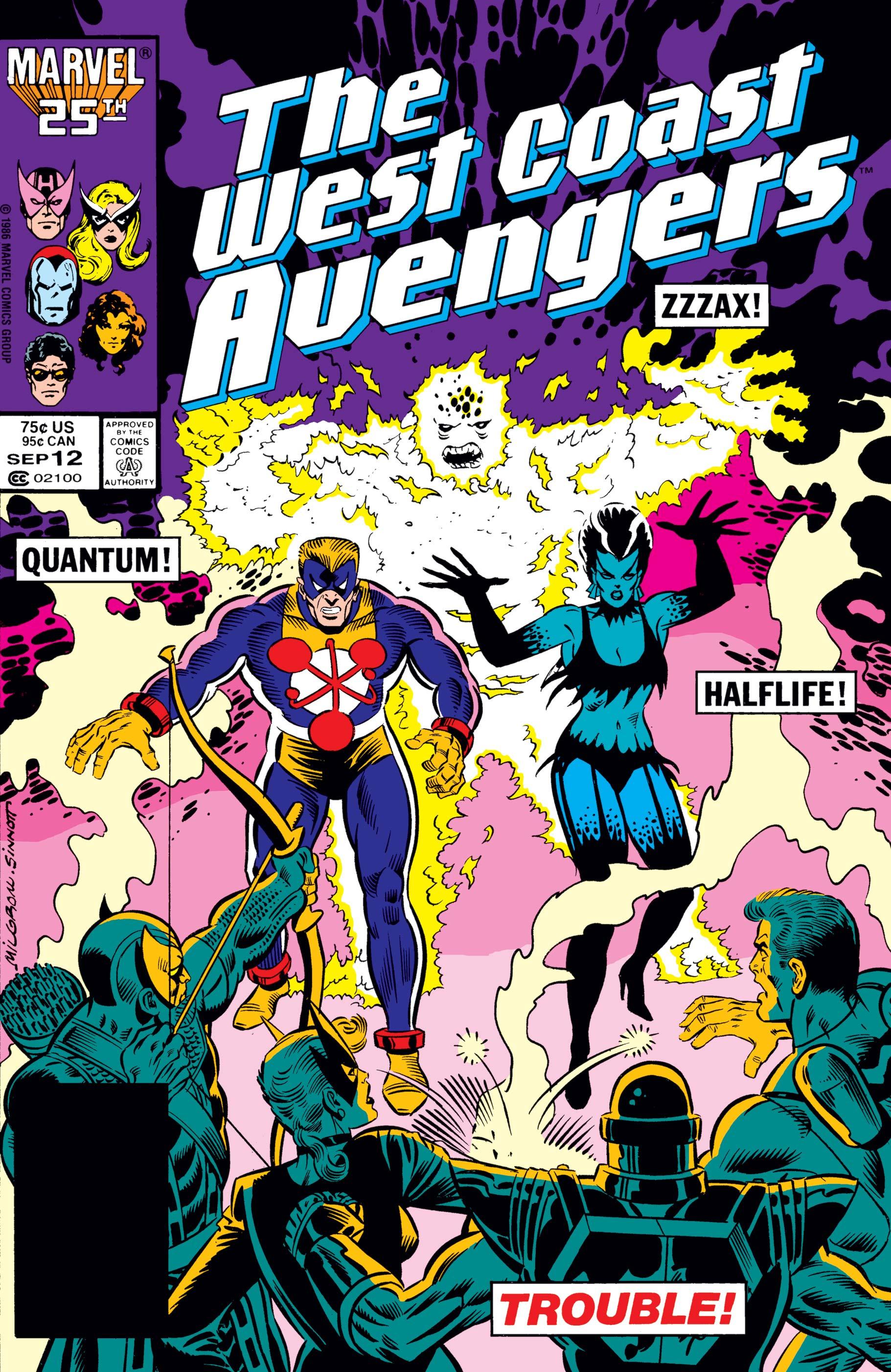 West Coast Avengers (1985) #12