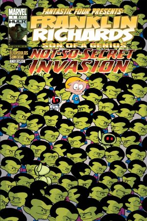 Franklin Richards: Not-so-Secret Invasion (2008) #1
