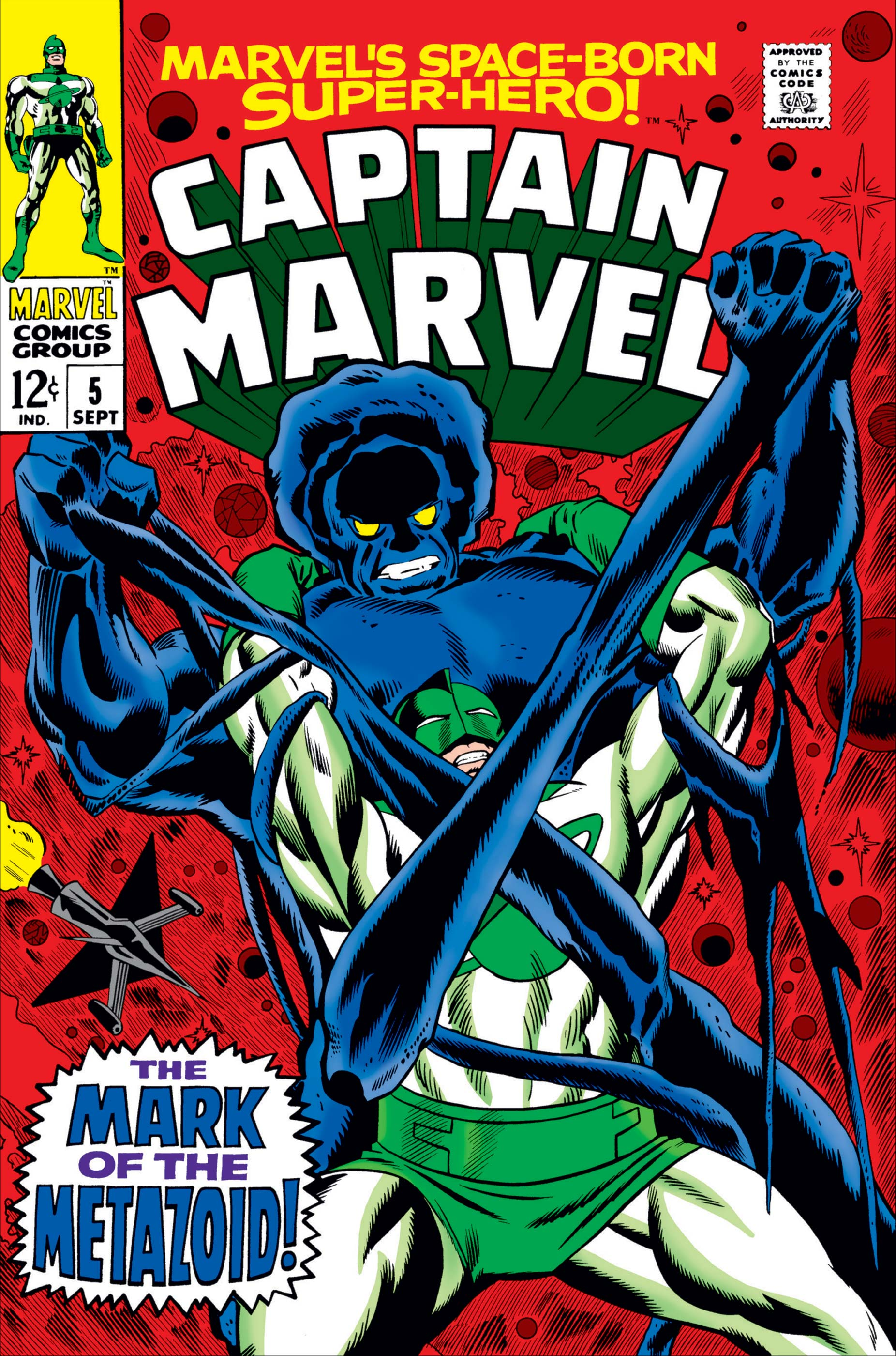 Captain Marvel (1968) #5
