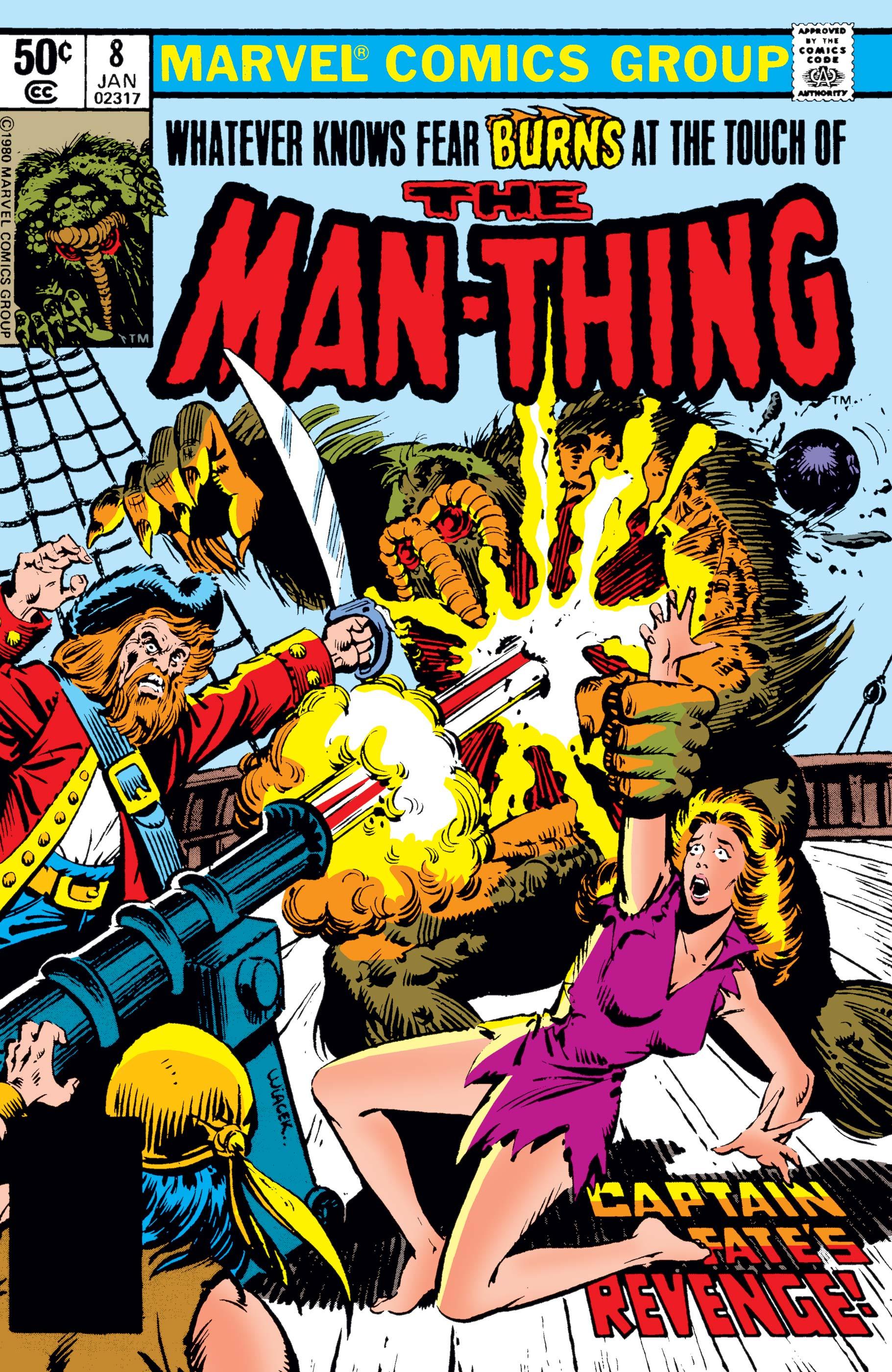 Man-Thing (1979) #8