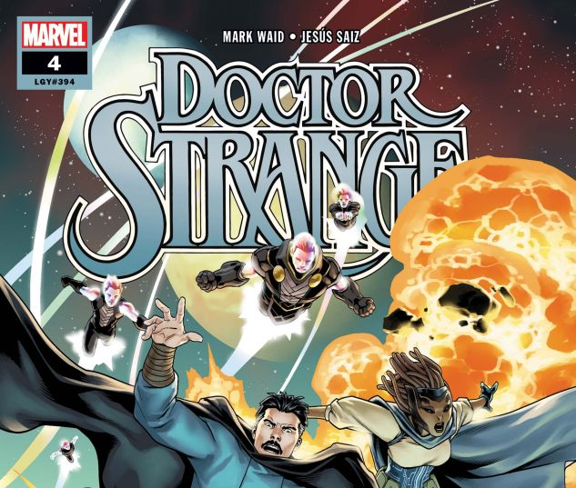 cover from Doctor Strange (2018) #4