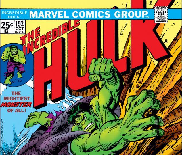 Incredible Hulk (1962) #192